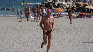 Record de participanți la maratonul de înot în ape deschise