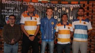BC Athletic Constanța va debuta duminică în Liga 1 de baschet masculin