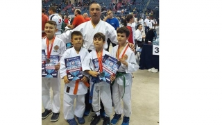 Medalii europene pentru sportivii de la CS Karate Tradițional Eforie