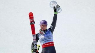 Globul de la slalom uriaș a ajuns la Tessa Worley
