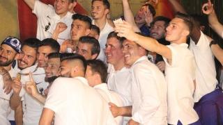 A fost sărbătoare după câștigarea titlului de către FC Viitorul