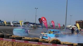 Un bulgar a câștigat etapa a 4-a din campionatul de drift al României