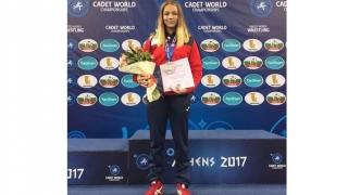 Andreea Ana, din Mangalia, vicecampioană mondială la lupte