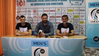 Optimism moderat la HC Dobrogea Sud înaintea dublei cu norvegienii