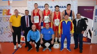 Luptătorii Florin Tița și Marius Marin, învingători în Cupa României pentru juniori