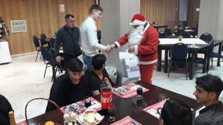 Boxerii de la CS Farul, vizitați de Moș Crăciun