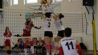 Final de sezon regulat în Divizia A2 la volei feminin