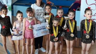 Patru medalii pentru micuțele gimnaste de la Victoria Cumpăna