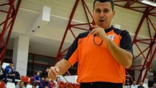 Arbitru constănţean la turneul Final Four al Ligii Campionilor la baschet masculin