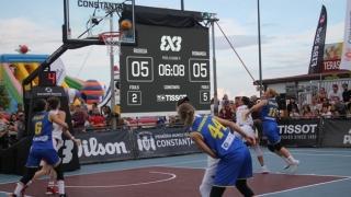 Baschetbalistele tricolore au învins vicecampioana mondială la baschet 3x3