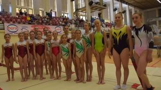 Gimnastele constănţene, campioane şi vicecampioane naţionale pe echipe la junioare II