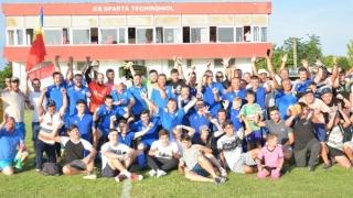 CS Poseidon Limanu-2 Mai a promovat în Liga a 3-a