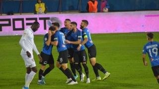 FC Viitorul a egalat-o pe CFR în fruntea clasamentului