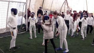 CS Farul, a treia acţiune de promovare a sportului în școlile constănțene