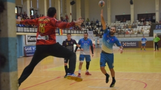După un meci tensionat, HC Dobrogea Sud a cedat la Timişoara