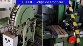 GALERIE FOTO. Grupare infracționala care deținea fabrici clandestine de țigări. Teancuri de bani ca în filme. 80 de milioane de euro prejudiciu.