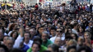 Zeci de mii de persoane au manifestat în Spania și Franța în sprijinul deținuților basci