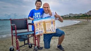 Prima plajă din Europa dedicată persoanelor cu dizabilități, la Constanța