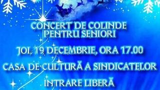 Concert de colinde pentru seniorii Constanței