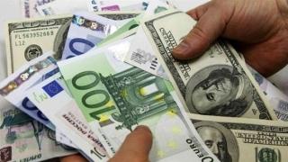 Prima zi de tranzacționare a anului 2017: Dolarul crește, euro scade