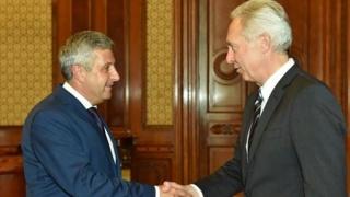 Președintele Camerei Deputaților s-a întâlnit cu ambasadorul SUA