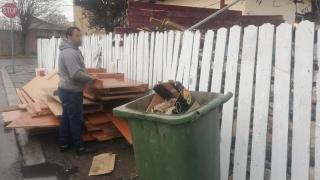 Când o să înceteze la Constanța obiceiul de a arunca gunoiul la întâmplare?!