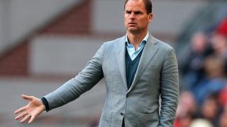 Antrenorul Frank de Boer a fost demis de la Inter