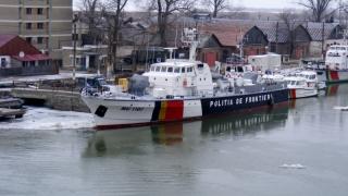O navă a Poliției de Frontieră va supraveghea frontierele Europei din Marea Egee