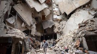 Armistiţiul din Siria, între Merkel, Macron şi Putin!