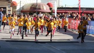 Mişcare şi distracţie la Crosul Copiilor