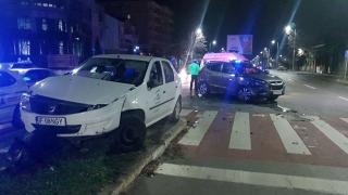 Accident cutremurător! Bulevardul Mamaia, plin de cioburi și de sânge