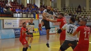 HC Dobrogea Sud a cedat pe final în confruntarea cu Dinamo