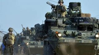 Proteste în timpul unui exerciţiu militar americano-finlandez