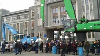 Protest în Portul Constanța
