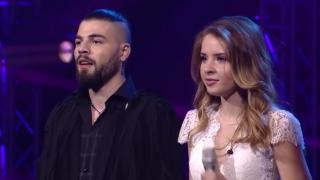 Ilinca și Alex Florea, reprezentanții României la Eurovision, cântă pentru un loc în finală
