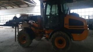 Constanța. Excavator furat, căutat de autoritățile suedeze, găsit lângă localitatea Castelu