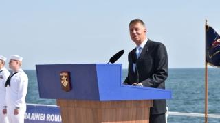 """Iohannis: """"Ziua Marinei ne arată valorile care ne unesc, în Centenarul României"""""""