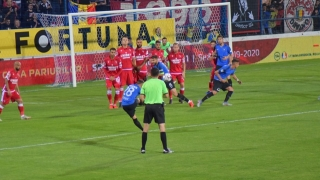 Dinamo a cedat pe terenul ultimei clasate