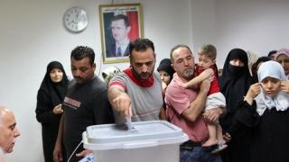 35.000 de candidaţi la alegerile din Siria