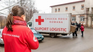 41 de maternități, echipate de către Crucea Roșie!