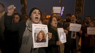 Manifestație la Bagdad pentru eliberarea unei jurnaliste răpite