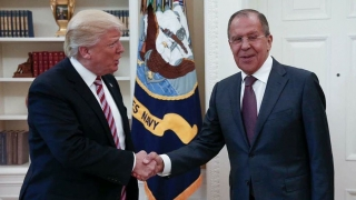 "Donald Trump a avut discuţii ""foarte bune"" cu Serghei Lavrov"