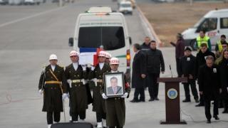 Ambasadorul rus asasinat la Ankara, înmormântat cu onoruri