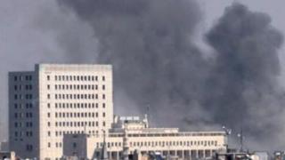 Atac cu obuze asupra ambasadei Rusiei din Siria