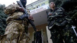 Doi ofițeri ucraineni și doi rebeli au fost uciși în estul Ucrainei