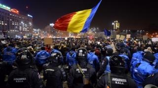 Patru persoane, arestate în urma violențelor de la protestul din Capitală
