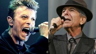 David Bowie și Leonard Cohen, nominalizați postum la premiile Brit Awards
