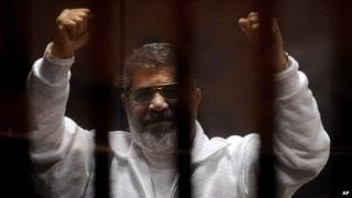 Fostul presedinte egiptean Mohamed Morsi, condamnat la închisoare pe viață într-un nou proces