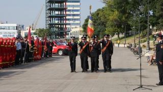 Marţi 13, sărbătoare pe Faleza Cazino! Militarii serbează Ziua Pompierilor