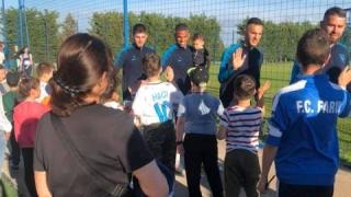 """Jucătorii Viitorului au """"pasat iubirea pentru fotbal tinerelor generații"""""""